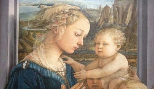 フィリッポ・リッピ「聖母子と天使たち(リッピーナ)」美しい聖母マリアの秘密とは?