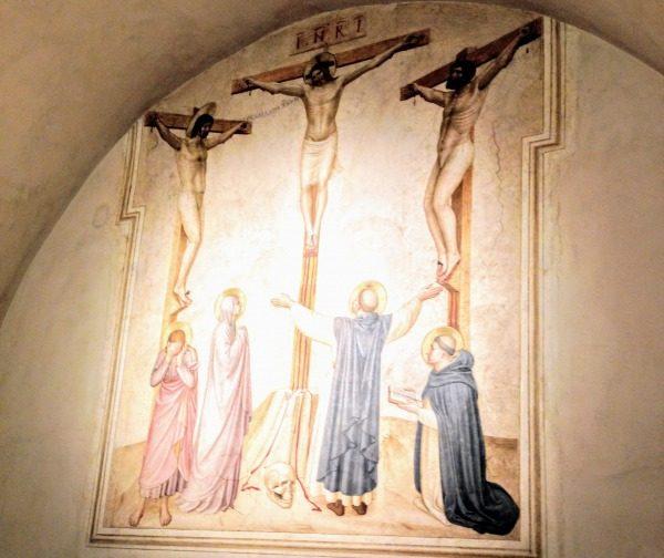 十字架磔刑 ベアート・アンジェリコ, 15世紀前半 サン・マルコ美術館, フィレンツェ
