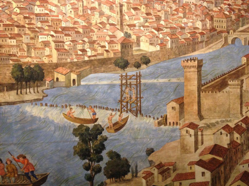 オンニッサンティの水車