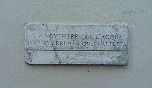 11月4日、あれから50年。フィレンツェの街とアルノ川の大洪水。