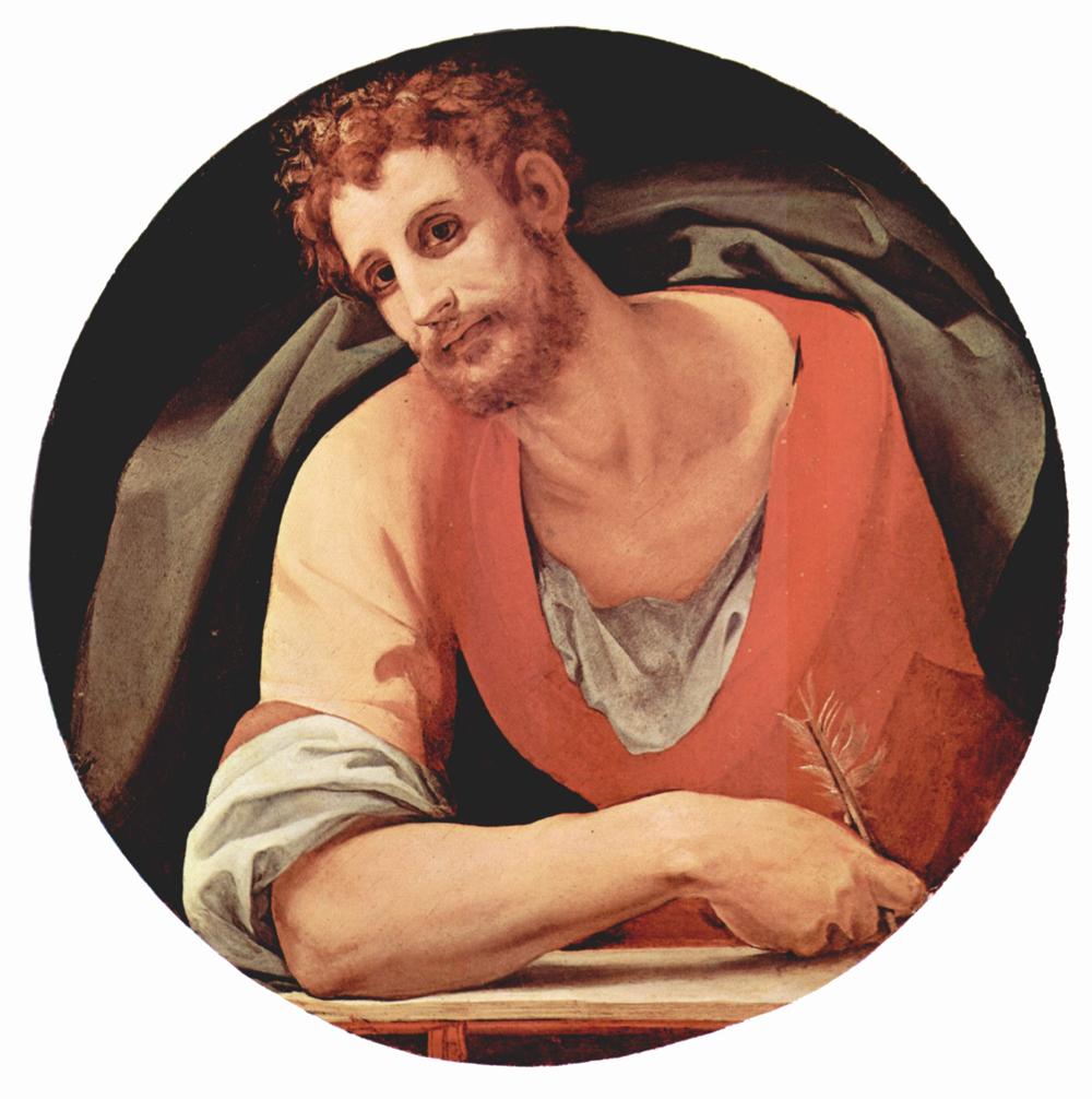 ブロンズィーノ作 聖マルコ