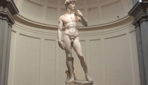 ダヴィデ像 ミケランジェロ・ブォナロッティ, 1501-1504 アカデミア美術館, フィレンツェ