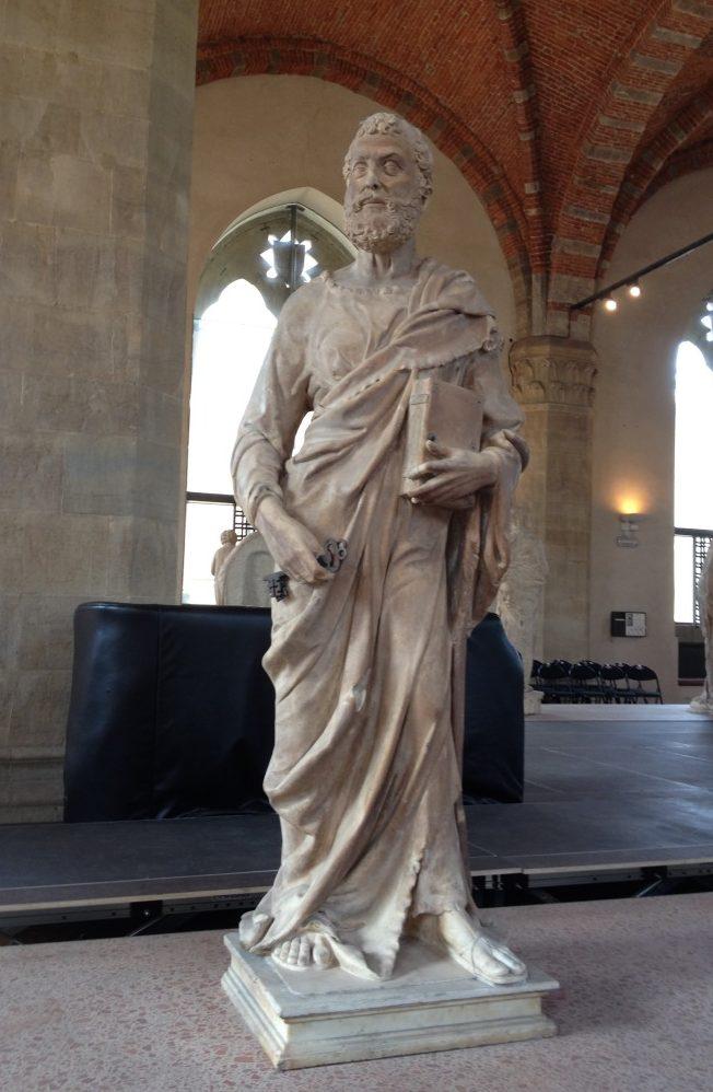 聖ピエトロ ドナテッロ(ブルネレスキ?), 1410-15 オルサンミケーレ教会, フィレンツェ
