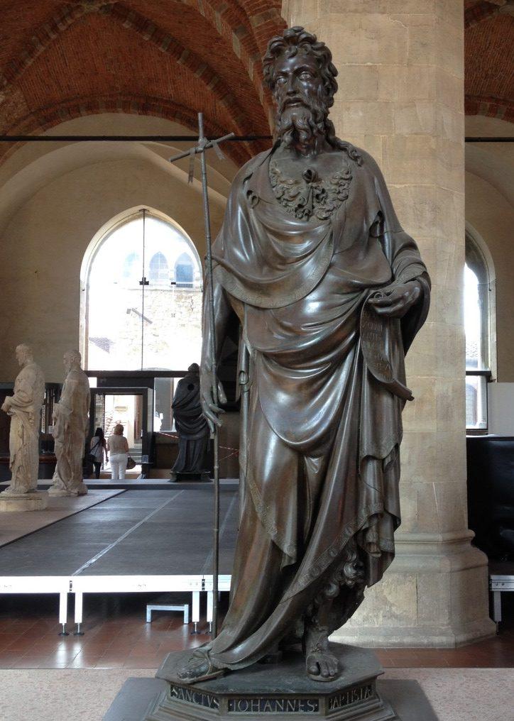 洗礼者ヨハネ ロレンツォ・ギベルティ, 1412-16 オルサンミケーレ教会, フィレンツェ