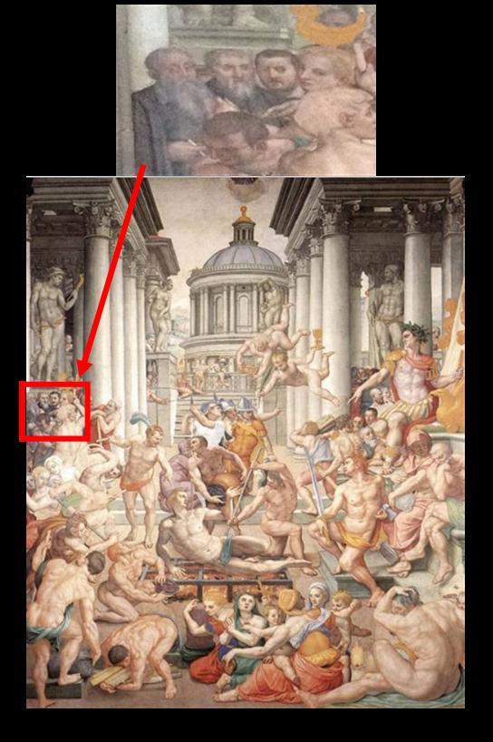 ブロンズィーノ「聖ラウレンティウスの殉教」
