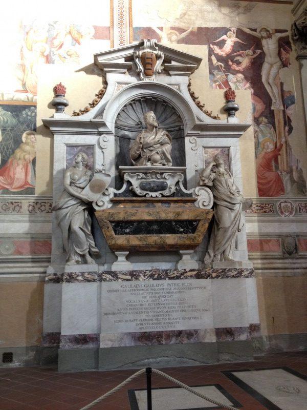 ガリレオ・ガリレイの墓碑