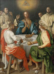 エマオの晩餐 ポントルモ, 1525 ウフィツィ美術館, フィレンツェ