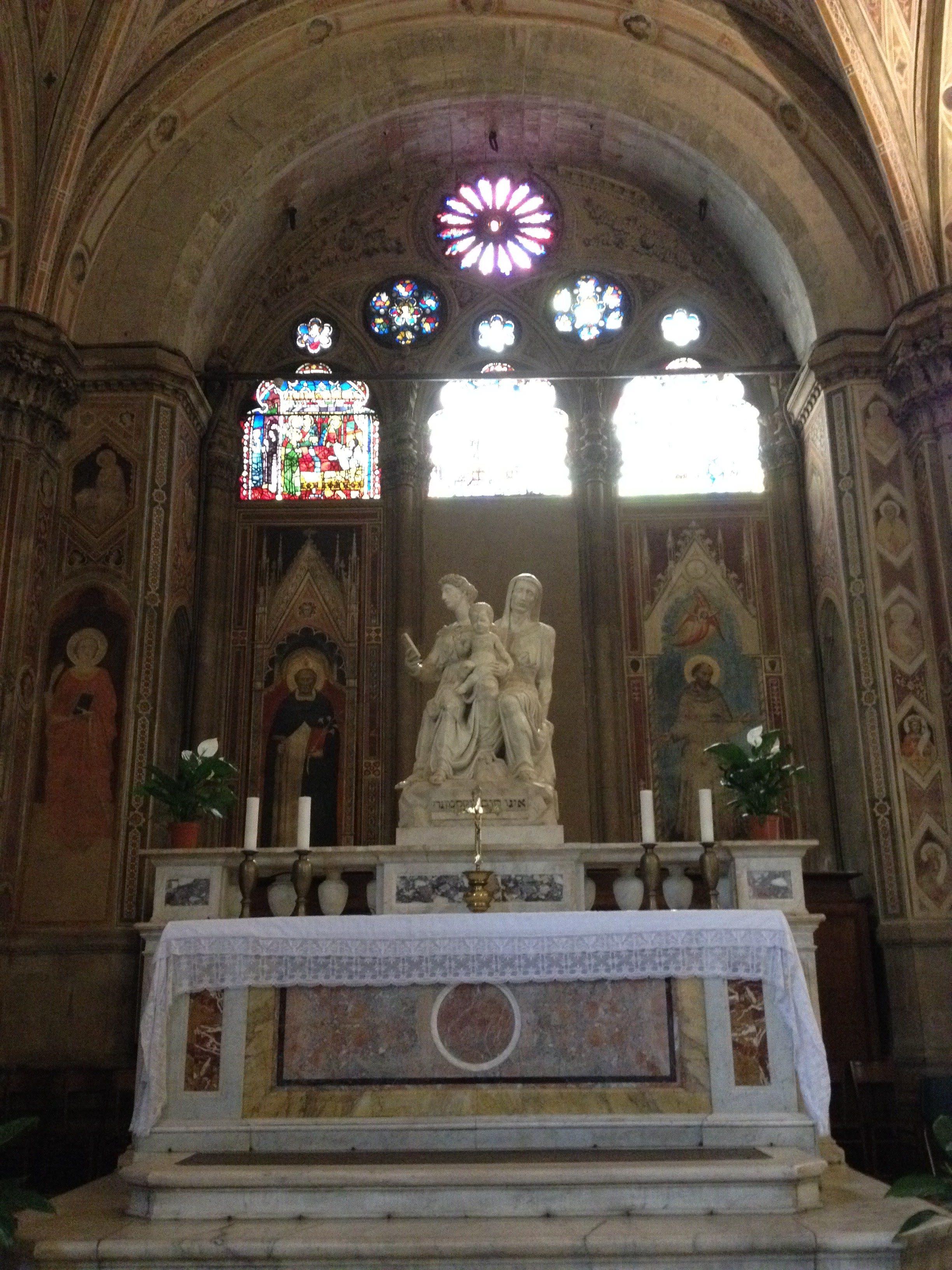 聖母子とマリアの母アンナ