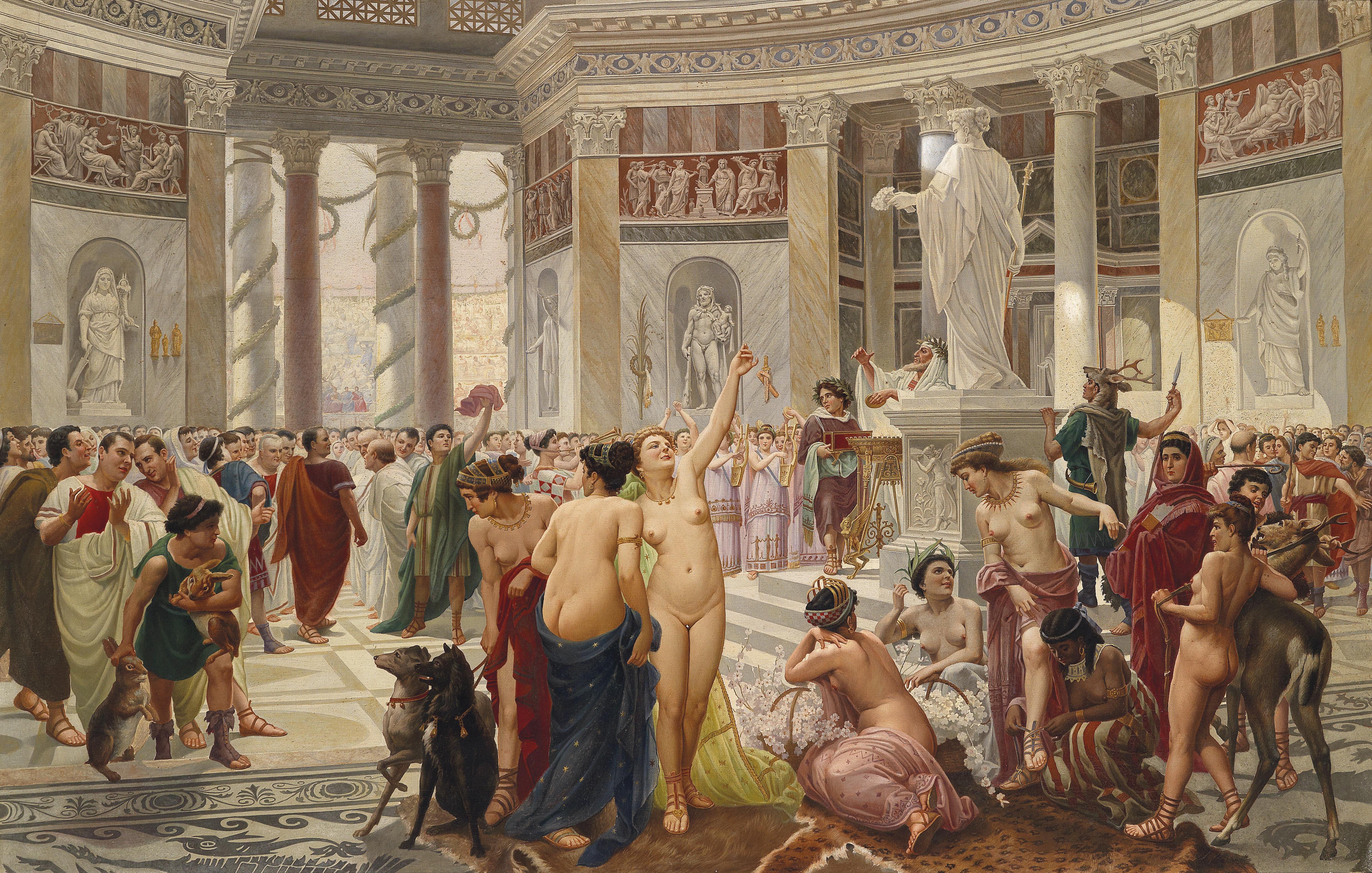古代ローマのフロラーリア
