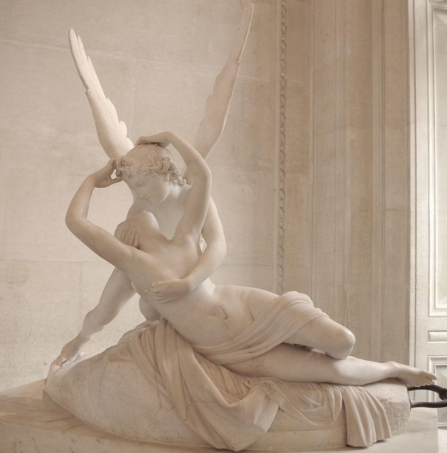 アモレとプシュケ アントニオ・カノーヴァ, 1787-1793 ルーヴル美術館, パリ