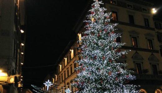 12月8日、いよいよ今日からクリスマス!!広場のツリーも点灯します。