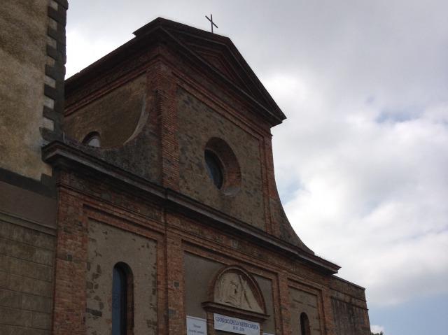 ヴィンチ村のサンタ・クローチェ教会