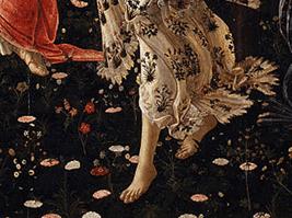ボッティチェリ「春」フローラ2