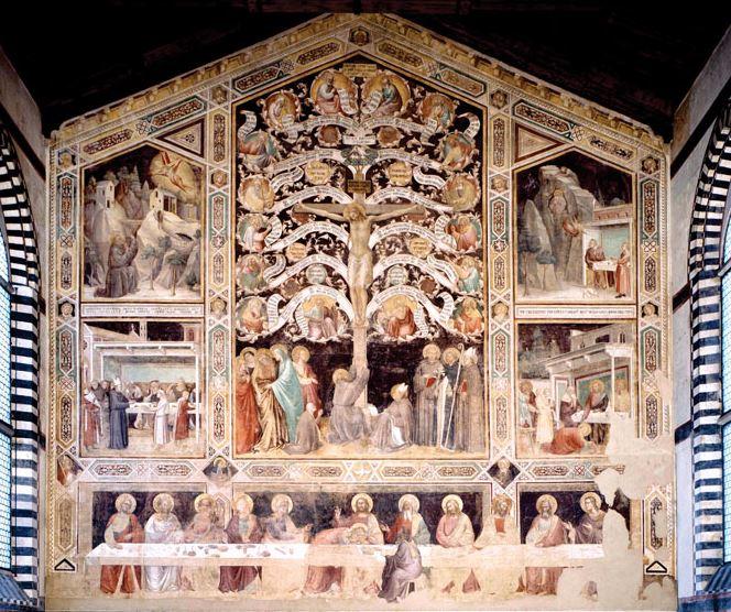 タッデオ・ガッディ 1334年頃 サンタ・クローチェ教会、フィレンツェ