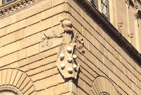 メディチの紋章⑤ボールが7つ