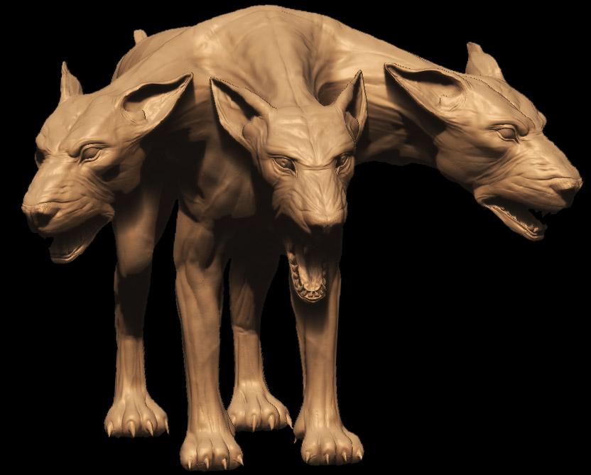 冥界の番犬ケルベロス