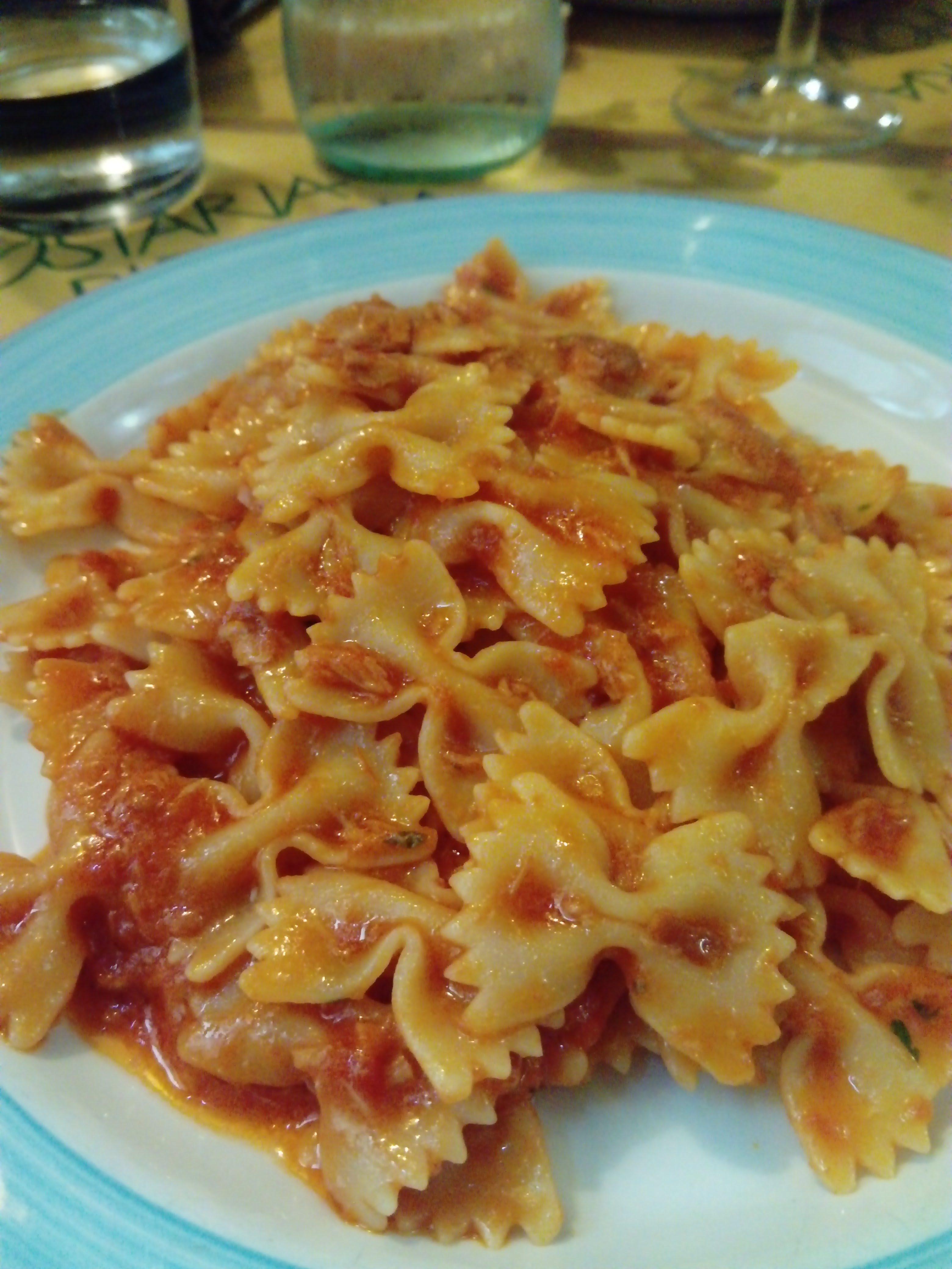 ファルファッラのトマトソース