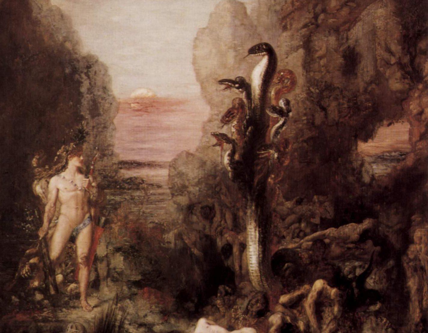 水蛇ヒュドラ