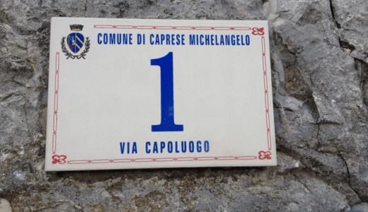 ミケランジェロの生まれ故郷カプレーゼに行ってきました!