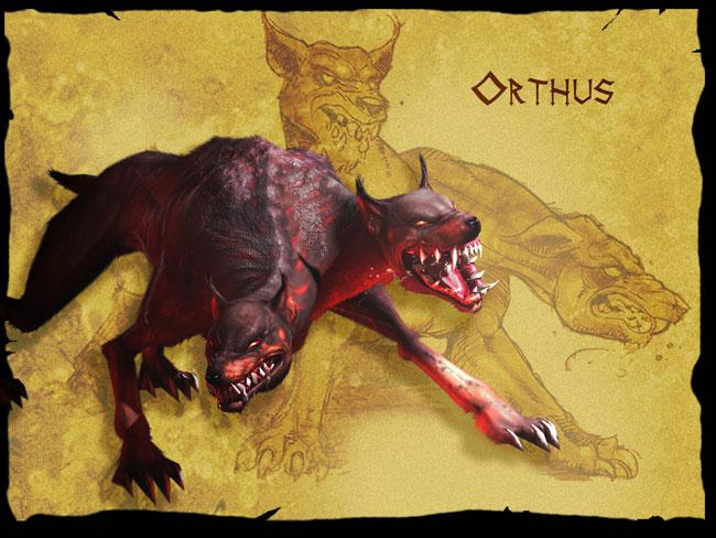 双頭の犬オルトロス