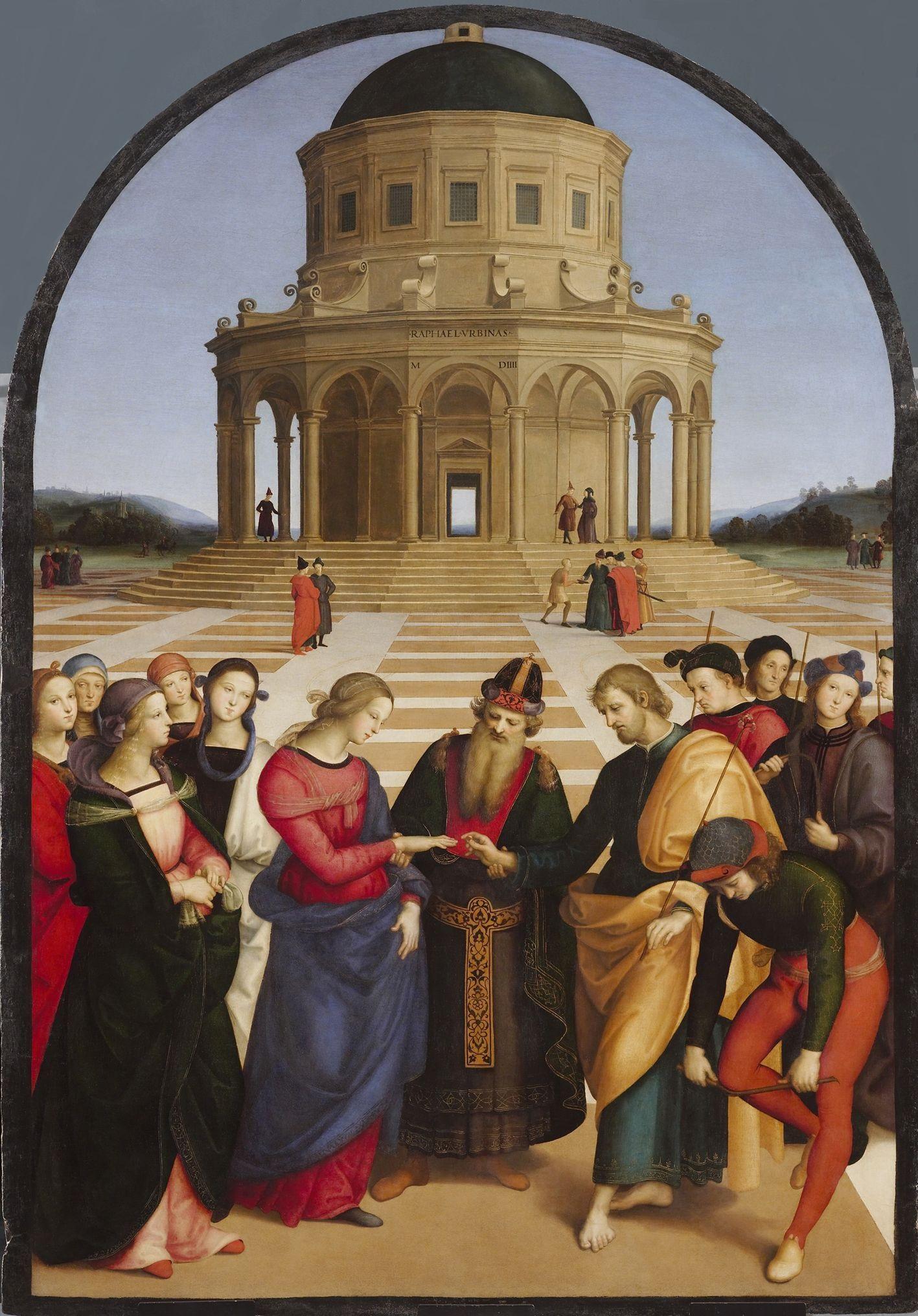 聖母の結婚 ラファエロ・サンツィオ