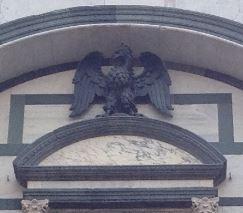 アルテ・ディ・カリマーラのシンボル、鷲