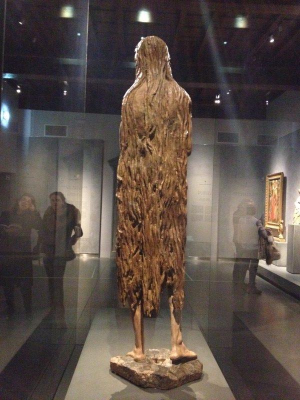 マグダラのマリア ドナテッロ, 1453-56頃 ドゥオモ付属博物館, フィレンツェ
