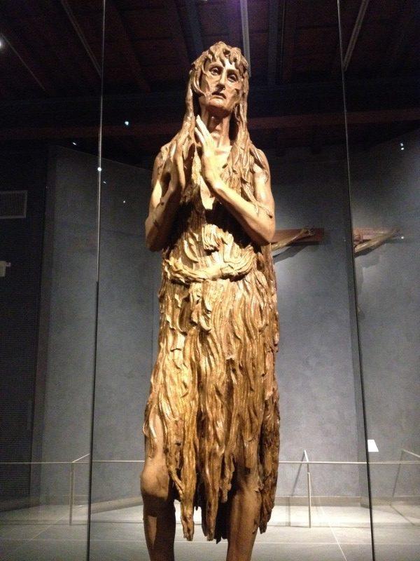 改悛するマグダラのマリア<br />ドナテッロ, 1453-56頃<br />ドゥオモ付属博物館, フィレンツェ