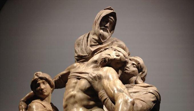 ピエタ ミケランジェロ・ブオナッロティ, 1547-55頃 ドゥオモ付属博物館, フィレンツェ