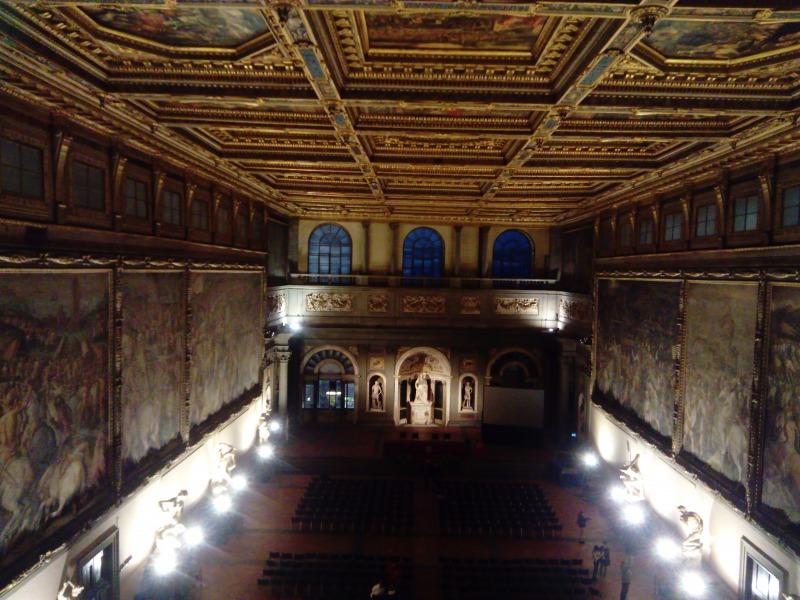 500人広間ヴェッキオ宮殿, フィレンツェ