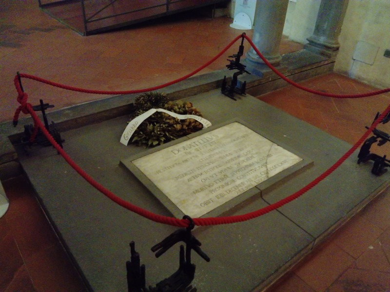 ドナテッロのお墓