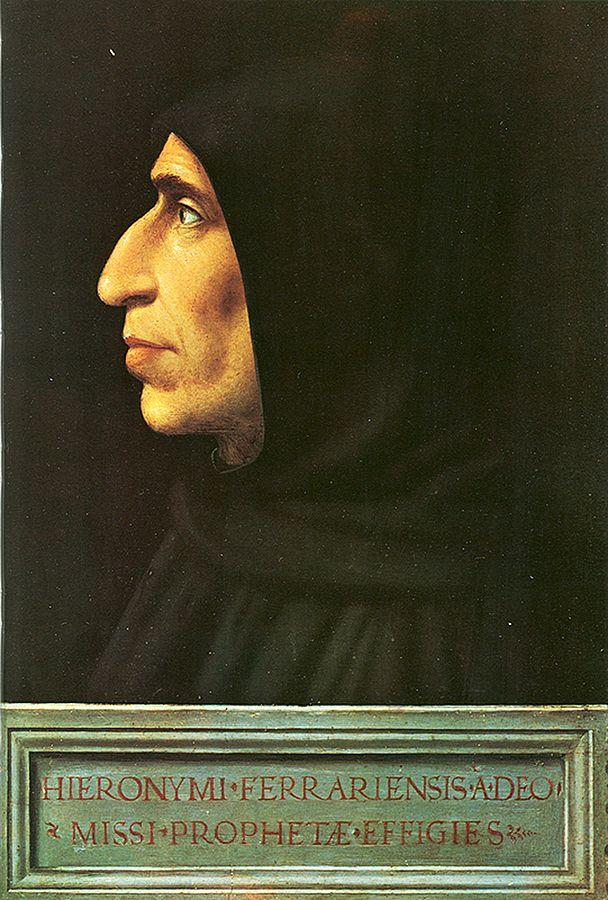 世紀末のフィレンツェはサヴォナローラの支配下に…ボッティチェリにも影響!