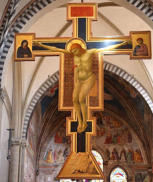 十字架磔刑像 ジョット・ディ・ボンドーネ, 1290頃 サンタ・マリア・ノヴェッラ教会, フィレンツェ