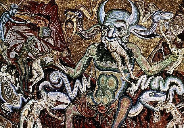 モザイクの中の悪魔