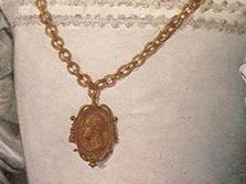 コジモ1世の横顔が刻まれたメダル