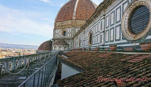 フィレンツェの大聖堂上のテラス通路が個人でアクセス可能に!営業時間・チケット・アクセス方法など。
