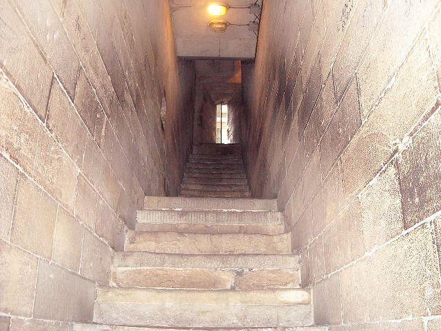 ジョットの鐘楼内部 階段