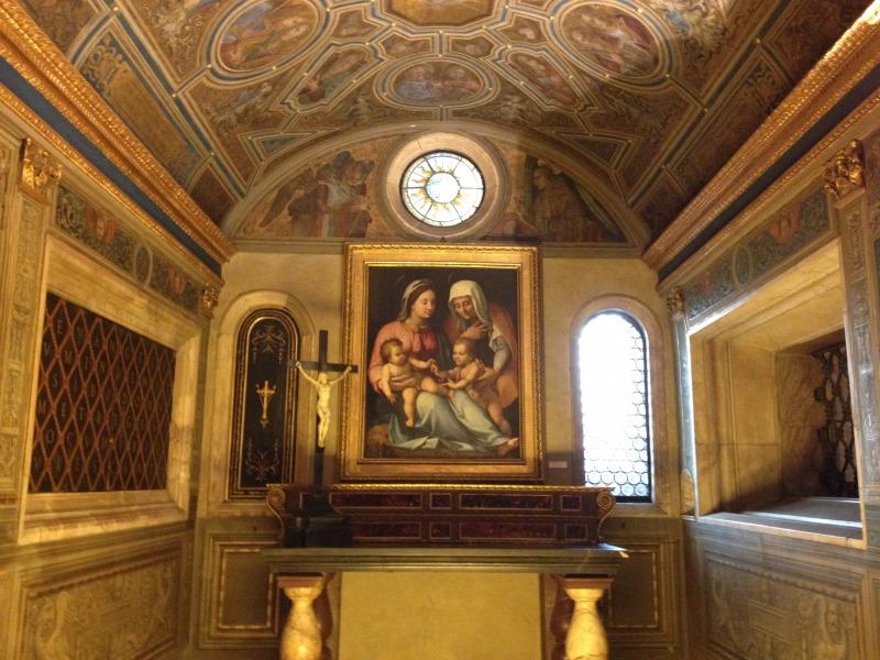 プリオーリの礼拝堂