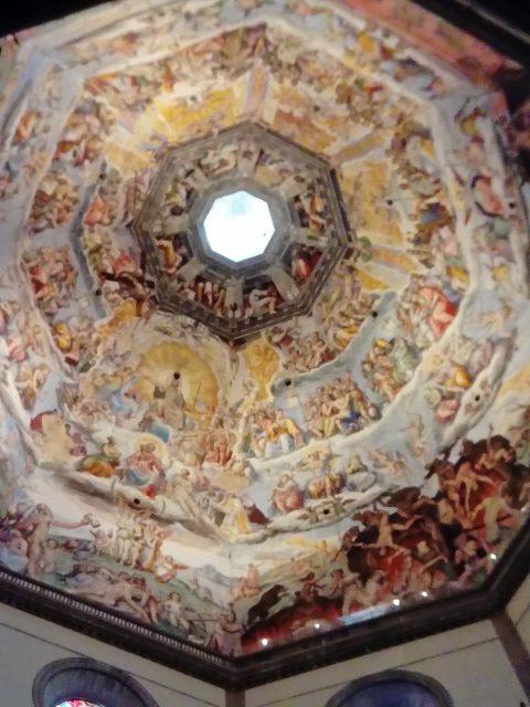 最後の審判(クーポラ内部) ジョルジョ・ヴァザーリ、フェデリコ・ズッカリ, 1572-1579 ドゥオモ, フィレンツェ