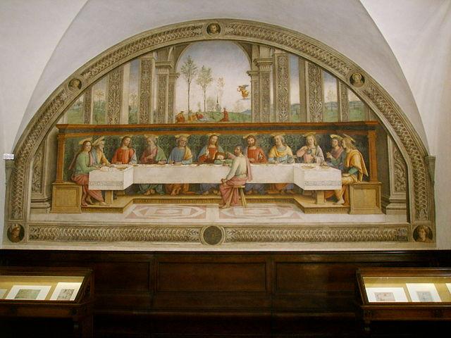 フリーニョの修道院食堂