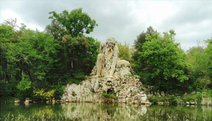 アッペンニーノの巨人 1580頃, ジャンボローニャ プラトリーノのメディチ庭園, フィレンツェ