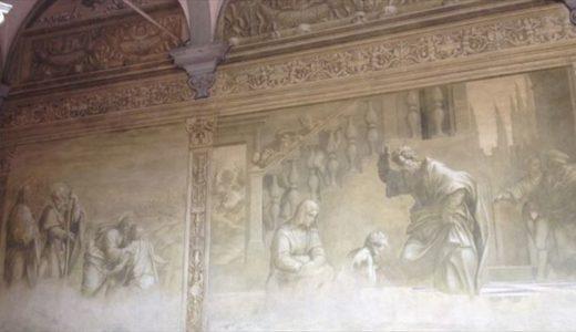 スカルツォ(跣足)修道会の回廊