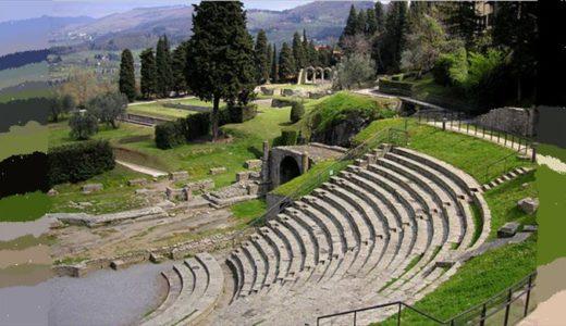 フィエーゾレ考古学博物館と遺跡地区