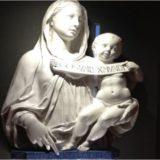 聖母子像 ルカ・デッラ・ロッビア, 1446-1449 捨て子養育院美術館, フィレンツェ