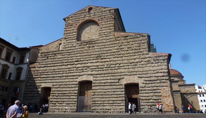 サン・ロレンツォ教会 フィレンツェ