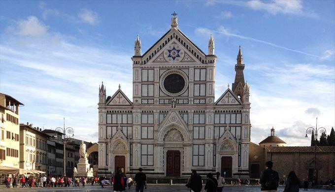 サンタ・クローチェ聖堂 フィレンツェ