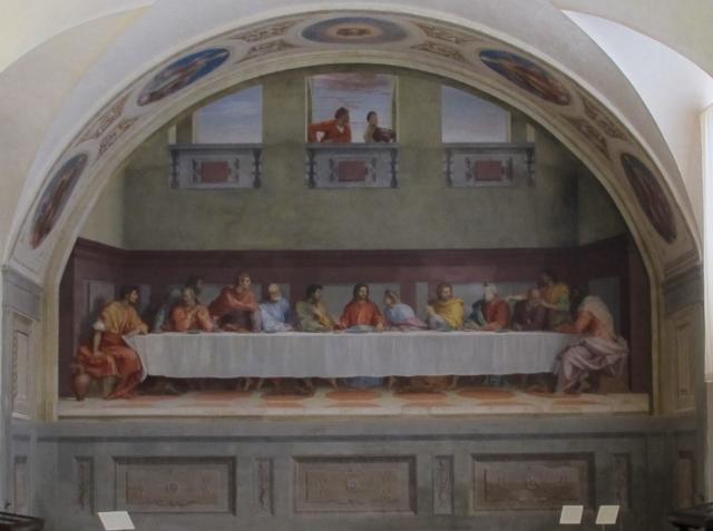 アンドレア・デル・サルトの「最後の晩餐」(サン・サルヴィ修道院食堂)