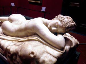 ヘルマプロディートス 1~2世紀頃, 作者不詳 ウフィツィ美術館, フィレンツェ