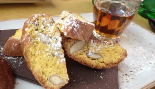 フィレンツェ土産のビスコッティ「カントゥッチ」とヴィン・サント、フィレンツェグルメのデザートにおすすめ♪