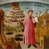 『神曲』をフィレンツェに示すダンテ ドメニコ・ディ・ミケリーノ, 1465 サンタ・マリア・デル・フィオーレ大聖堂, フィレンツェ